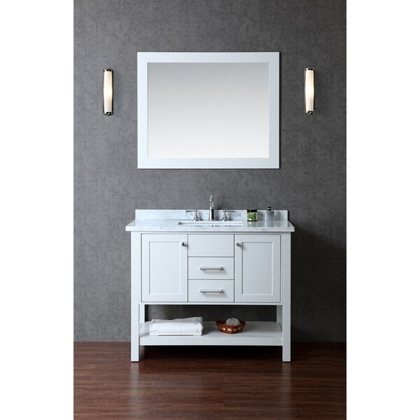 Babineaux 42  Single Bathroom Vanity Set by Three Posts