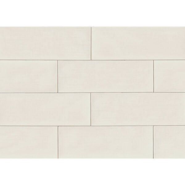 Starck 8 x 24 Ceramic Mosaic Tile in Gray by Grayson Martin