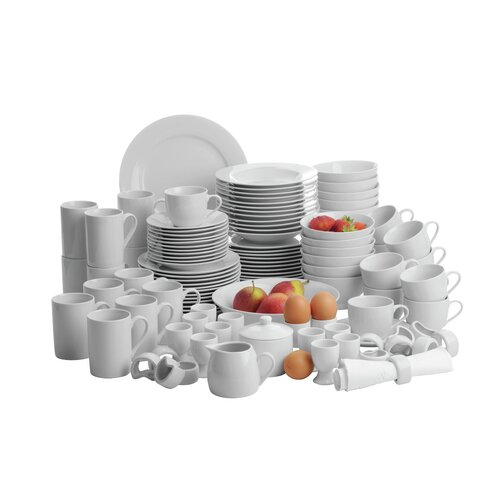 Young 112-Piece Dinnerware Set Zipcode Design