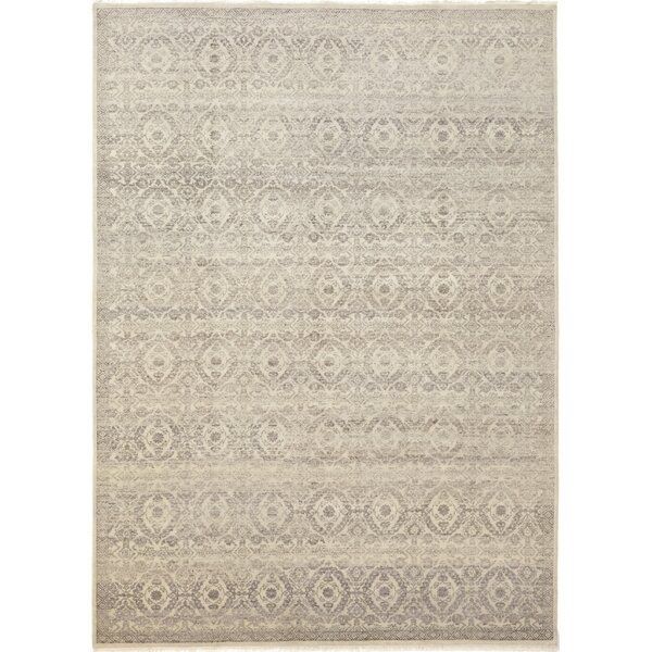 One-of-a-Kind Notre Dame Hand-Knotted Wool Brown Indoor Area Rug by Gracie Oaks