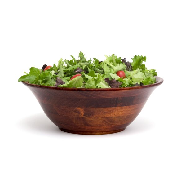 Flared Salad Bowl by Lipper International