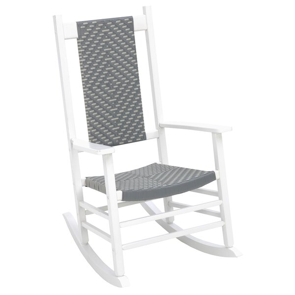 Aren Woven Rocking Chair by Highland Dunes