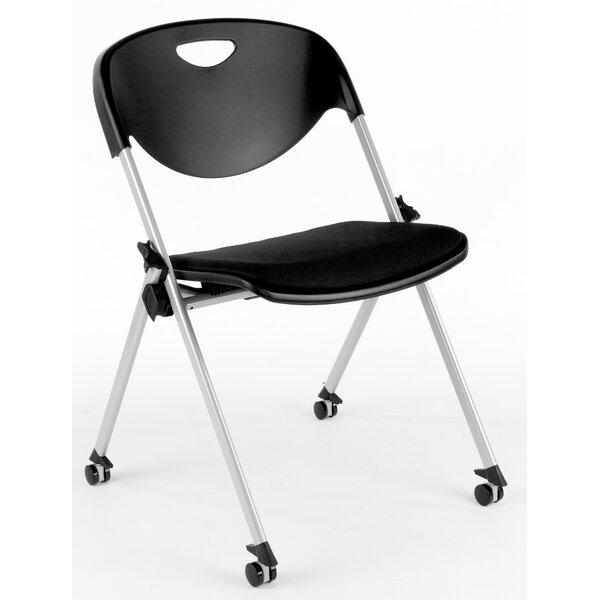 Metal Folding Chair (Set of 2) by ShopSol