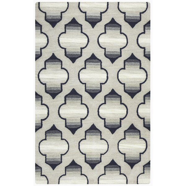 Chandler Hand-Tufted Gray Area Rug by Mercer41