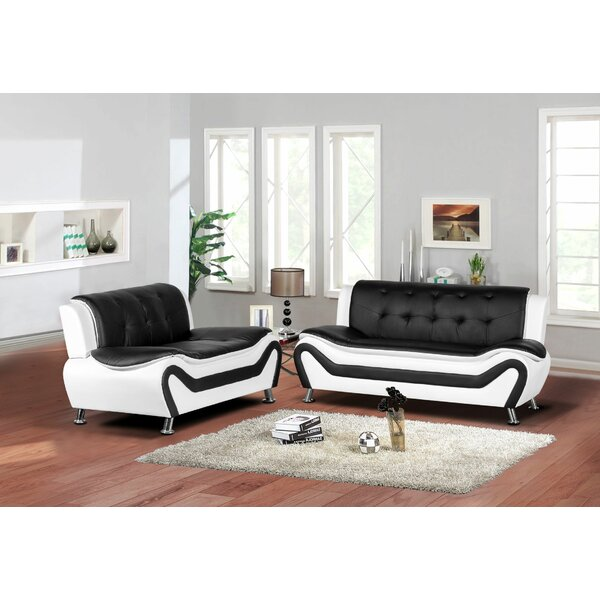 Bobo 2 Piece Living Room Set by Orren Ellis
