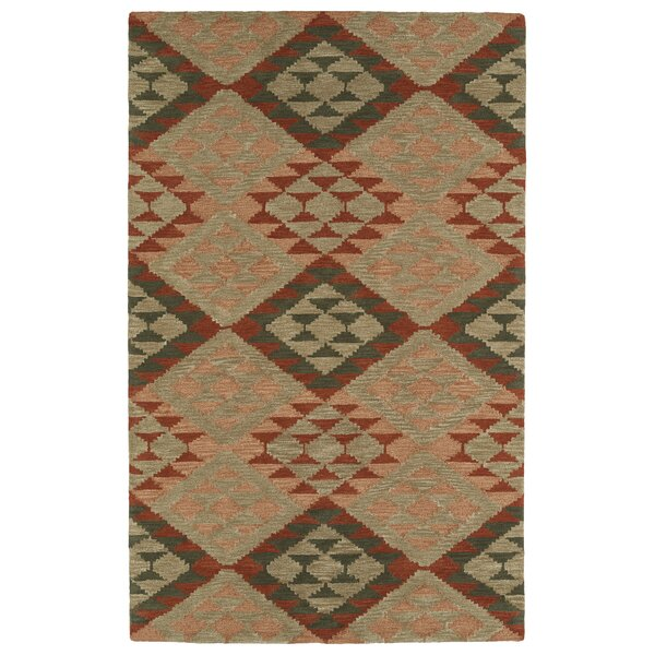 Hinton Charterhouse Hand-Tufted Heathered Camel Area Rug by Wrought Studio
