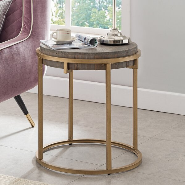 Hico End Table by Modern Rustic Interiors