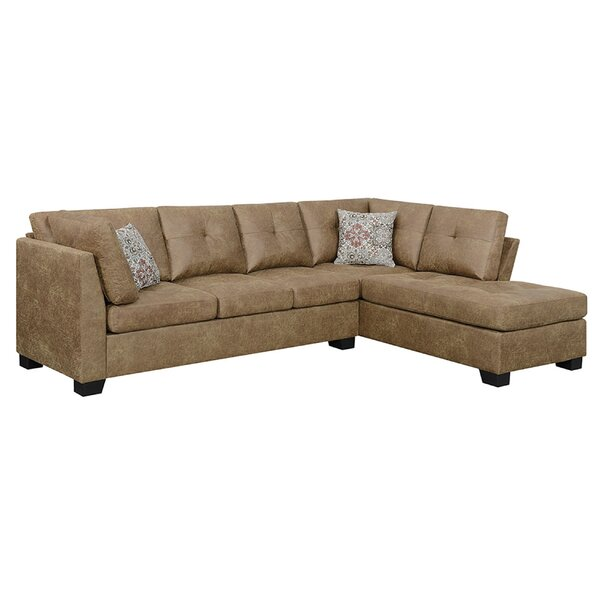 Danna Reversible Sectional by Millwood Pines