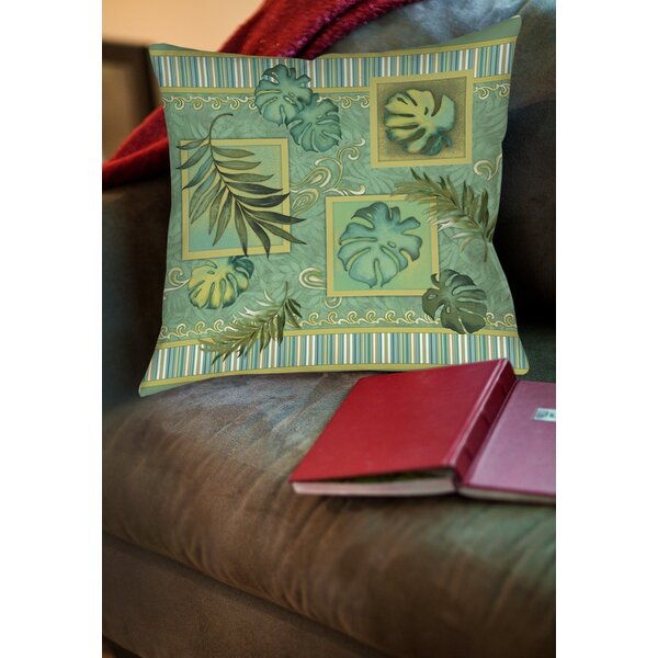 Tropic of Cancer Printed Throw Pillow by Manual Woodworkers & Weavers