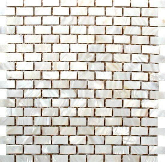 0.5 x 1.25 Mother of Pearl Mosaic Tiles