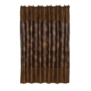 Compare Anderson Leather Shower Curtain ByLoon Peak