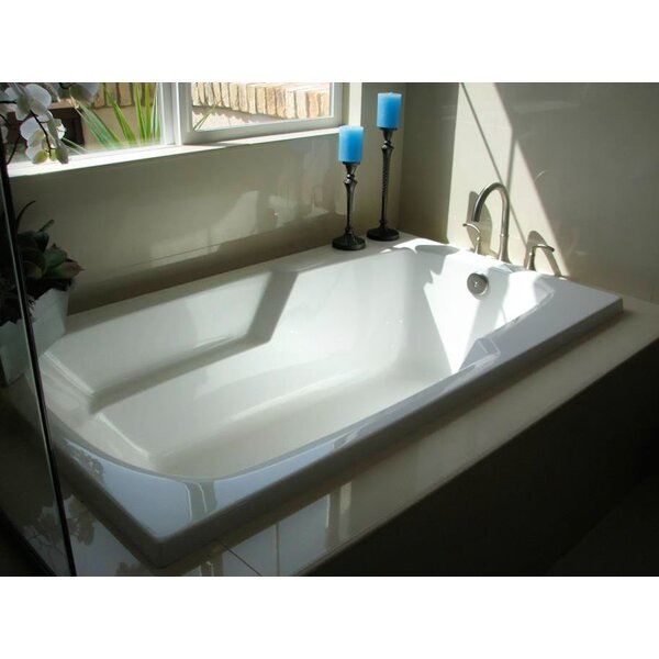 Designer Solo 72 x 36 Soaking Bathtub by Hydro Systems