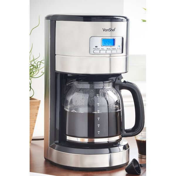 12 Cup Coffee Maker by VonShef