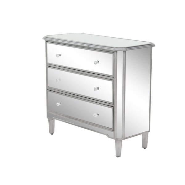 Bancroft 3 Drawer Accent Chest by Darby Home Co Darby Home Co