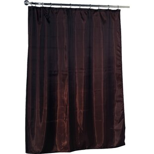 Beige Linen Shower Curtain