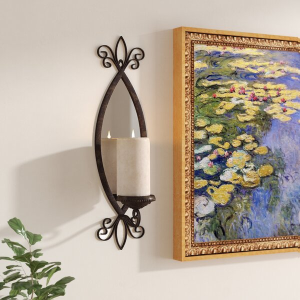 Amansara Metal Mirror Candle Sconce by Astoria Grand