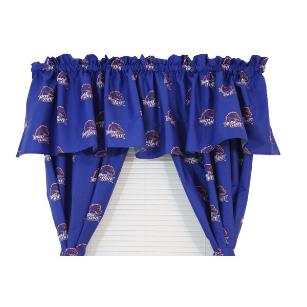 NCAA Boise State 84 Curtain Valance by College Covers