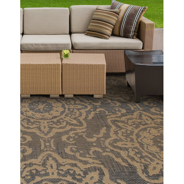 Cazares Gray/Beige Indoor/Outdoor Area Rug