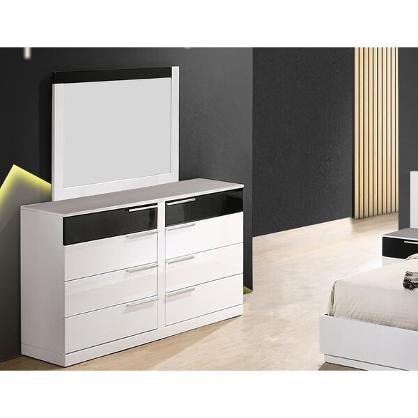Fleeton Bedroom Standard Dresser with Mirror by Orren Ellis