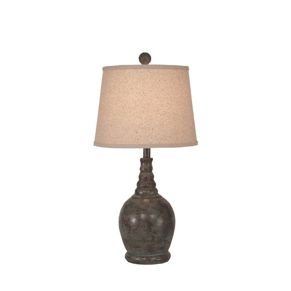Springfield Round 24 Table Lamp with Ribbed Neck by Bay Isle Home
