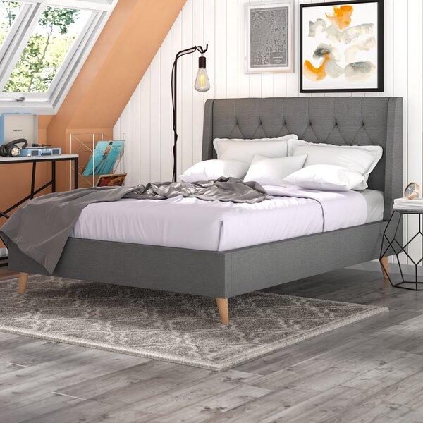 Bonner Upholstered Platform Bed by Trule Teen