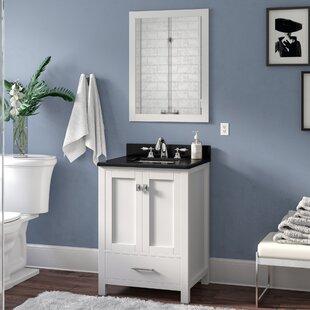 Serigne 25 Single Bathroom Vanity Set with Mirror ByWilla Arlo Interiors