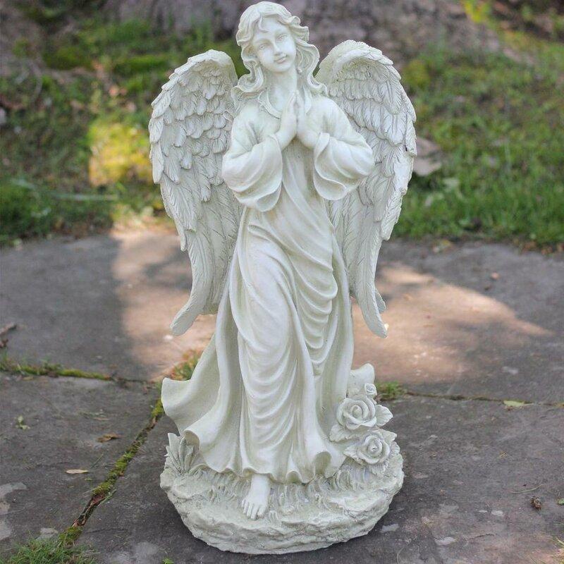 Favorite Northlight Praying Angel Statue | Wayfair UX12
