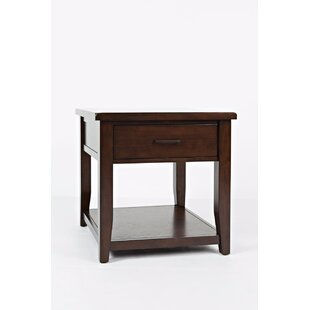 Hickey End Table with Storage ByAlcott Hill