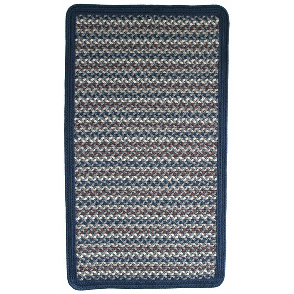 Green Mountain Lake Champlain Blue Area Rug by Thorndike Mills
