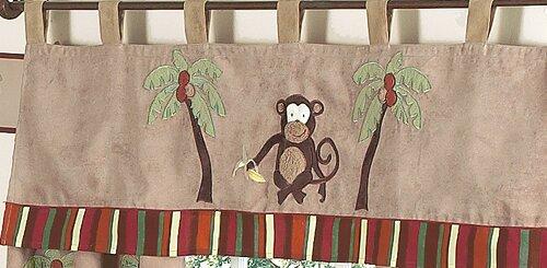 Monkey 54 Curtain Valance by Sweet Jojo Designs