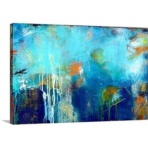'House of Blues' Painting Print on Wrapped Canvas by Great Big Canvas