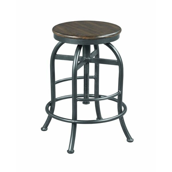 Shaan Adjustable Height Bar Stool by 17 Stories
