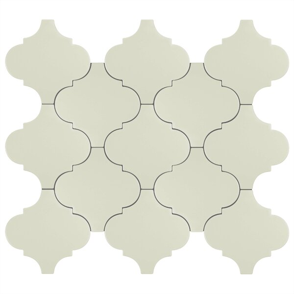 Beacon 8 x 8 Porcelain Mosaic Tile in Light Gray by EliteTile