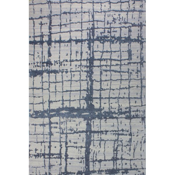 Diego Cotton Gray Area Rug by Williston Forge