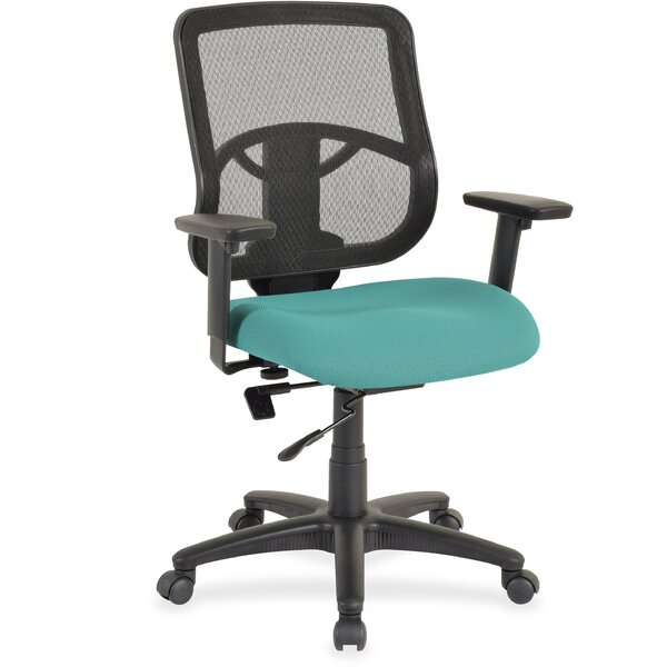 Managerial Mid-Back Mesh Desk Chair by Lorell