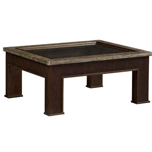 Marin Coffee Table with Tray Top by Fine Furniture Design