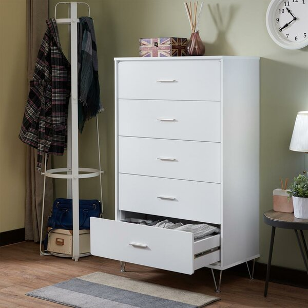 Madhav 5 Drawer Chest By Orren Ellis by Orren Ellis Top Reviews