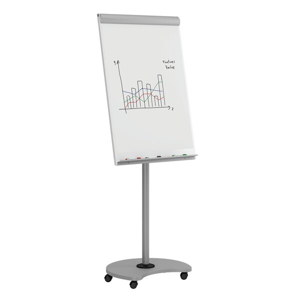 Free-Standing Whiteboard 84 x 84.5 by MiEN