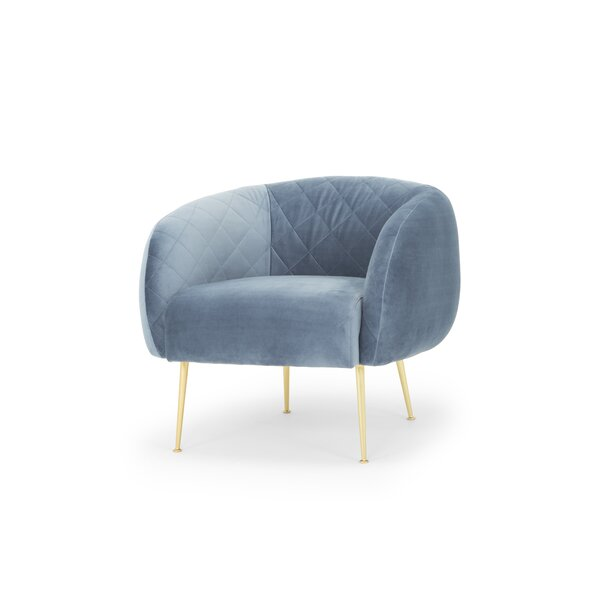 Bumgardner Velvet Chair by Mercer41 Mercer41