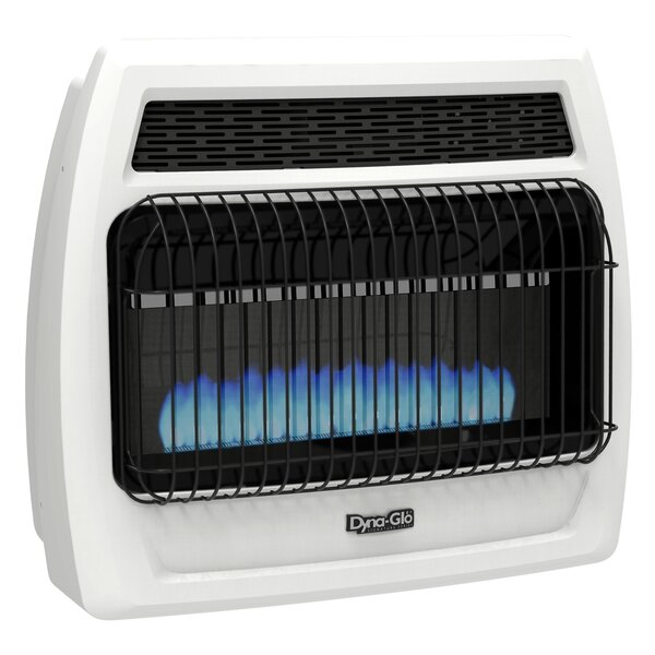 Dyna-Glo 30,000 BTU Natural Gas Convection Wall Mounted Heater with Thermostat by Dyna-Glo