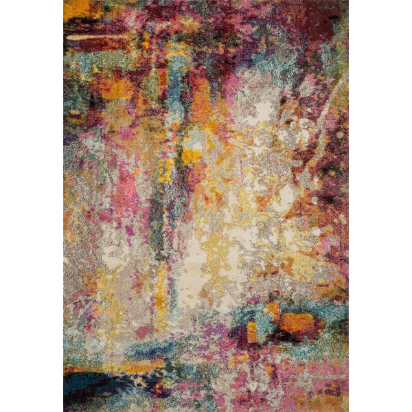 Lorenz Red/Brown Area Rug by Bungalow Rose