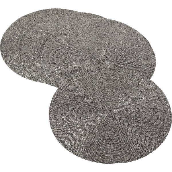 Maharani Bronze Placemat (Set of 4) by Saro
