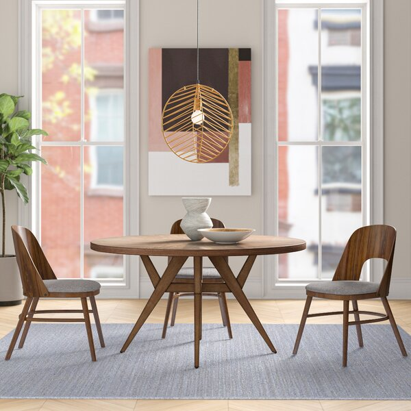 Carolina Solid Wood Dining Table by Foundstone Foundstone