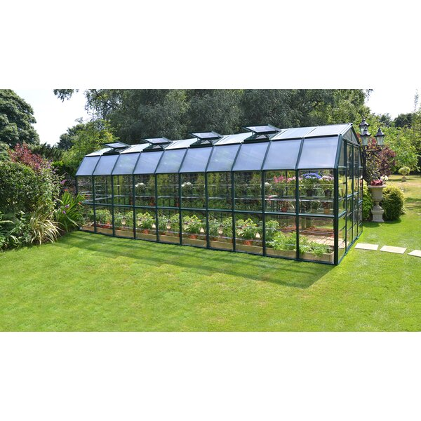 Grand Gardener 2 Clear 8 Ft. W x 20 Ft. D Greenhouse by Rion Greenhouses