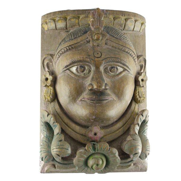 Vintage Maharaja / Maharani Face Wall Décor by World Menagerie
