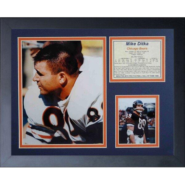 Mike Ditka Framed Memorabilia by Legends Never Die