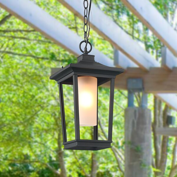 Barlow Transitional 1-Light Outdoor Hanging Lantern by Winston Porter