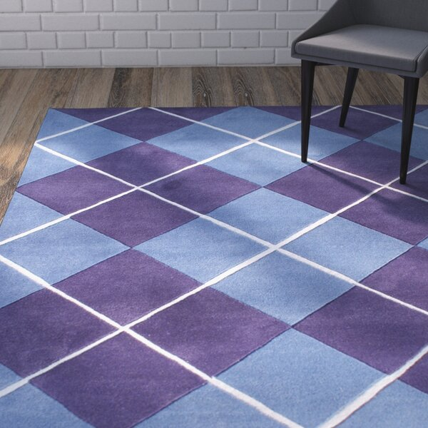 Christofferso Hand-Woven Purple Area Rug by Brayden Studio
