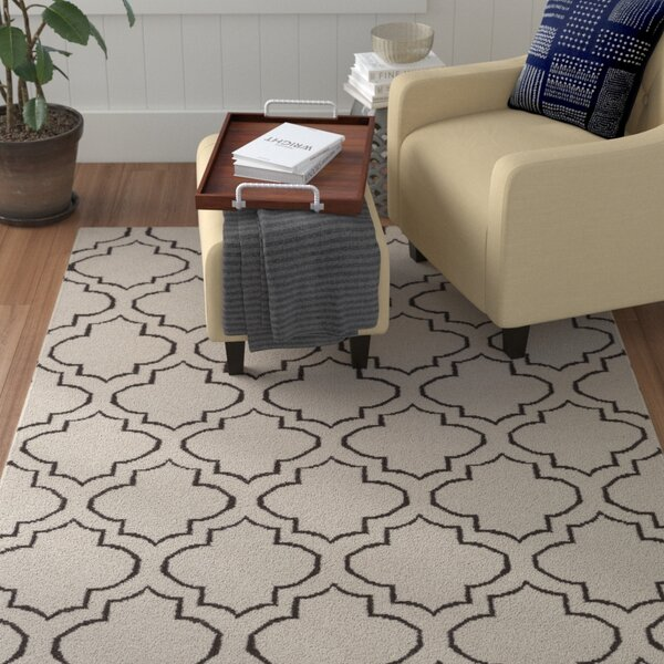Aylesworth Ivory/Gray Area Rug by Winston Porter