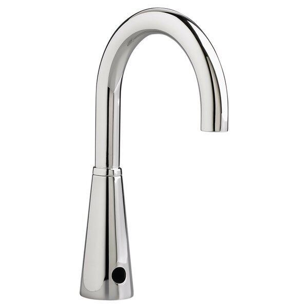 Selectronic Gooseneck Single Hole Bathroom Faucet Less Handle by American Standard
